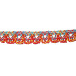 """Cluny Stretch Lace 1/2"""" Multicolor 5 Yards"""