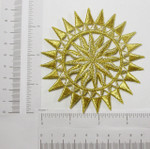 Iron On Patch Applique - Sun Star