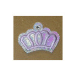 Iron On Patch Applique - Princess Crown