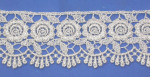 "Venise Lace 2 1/ 4"" Metallic Silver 3 Yards & Up"