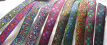 "Jacquard Ribbon 1"" Four Leaf Clover *Colors*"