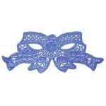 Venise Lace Applique - Bow Royal Blue