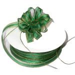 """Pull A Bow 3/8"""" Ribbon 50 Yard Roll Green"""