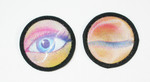Iron On Patch Applique - Holographic Winking Eye