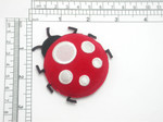 Lady Bug Iron On Patch Applique Puffy 3D