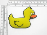 Rubber Ducky Iron On Patch Applique - Puffy 3D