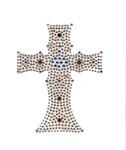 Crucifix - Rhinestud Applique
