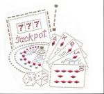 Rhinestud Applique - Casino Jackpot