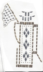 """Golf Bag GOLD - Stud Applique   Measures 4"""" across x 6 1/4"""" deep approximately   colors - SILVER GOLD   Iron On or Heat Transfer"""