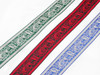 "Celtic Beastie Jacquard Ribbon 1 1/4"" (32mm)"