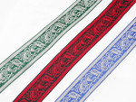"Celtic Beastie Jacquard Ribbon 1 1/4"" (32mm)"