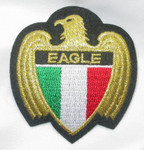 Iron On Patch Applique - Crest Italy Eagle