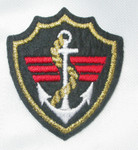 Iron On Patch Applique - Crest with Anchor