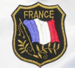 Iron On Patch Applique - FRANCE Flag Crest