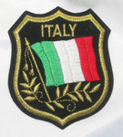 Iron On Patch Applique - ITALY Flag Crest