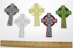 Iron On Patch Applique - Celtic Cross *Colors*