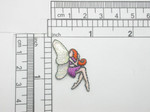 Fairy Mini Mauve Iron On Patch Applique