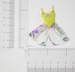 Iron On Patch Applique - Ballet Tutu Yellow