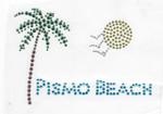 Rhinestud Applique - Pismo Beach