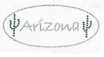 Rhinestud Applique - Arizona