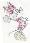 Rhinestud Applique - Minnie Mouse