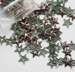 Hot Fix Stud - Star Faceted 8mm *Colors* 144 piece pack apx