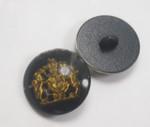 """Button 1"""" (25mm)  Lion & Unicorn Black Background - Per Piece"""