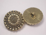 "Button 1"" (25mm)  Fancy Flower Head  - Per Piece"