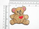Teddy Bear Gingham Ears