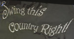 "Rhinestud Applique - ""Swing This Country Right!"""