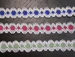 "Galloon Lace 5/8"" (15.8mm) *Colors* 5 Yards"