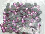 Swarovski Crystal FUCSHIA SS16 4mm apx (Hotfix) Flatback Rhinestones 144 pcs