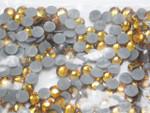 Swarovski Crystal TOPAZ SS16 4mm apx (Hotfix) Flatback Rhinestones 144 pcs