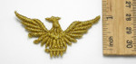 "Sew on Schiffi Embroidered Gold Eagle 2 1/2"" x 1 1/2"" - 12 Piece Pack"