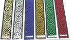 "Jacquard Ribbon 1 1/2"" (38mm) Hex Hexcelsior Celtic Chain Per Yard"