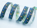 "Jacquard Ribbon - Drama King 3/4"" (20mm) Per Yard"