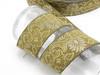 "2"" Liturgical Jacquard Border ""Royal Gala"" Woven Ribbon (50mm)"