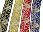 "2"" Liturgical Jacquard Border ""Royal Gala"" Woven Ribbon (50mm)"