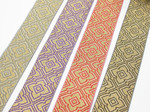 "2"" Liturgical Jacquard Border ""DIO"" Woven Ribbon"