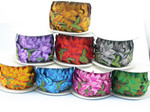 """Iron On Border Giant Flowers 89mm 3 1/2"""" Priced Per Yard Iron On Be Bold!"""