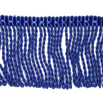 "Bullion Fringe 2 1/4"" Royal Blue 5 1/2 Yards"