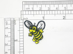 "Bee Iron on Embroidered Patch Applique 1"" x 1 1/4"""