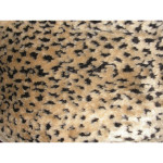 "Faux Fur Trim Strip 6"" Leopard"