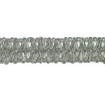 "Braid 5/8"" Heavy Metallic Silver 3 yards"