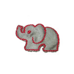 24 x Iron On Patch Applique - Elephant