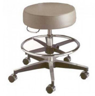 Century Series Pneumatic Stool with Foot Ring
