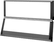 Mammo-Techline Illuminator - Two-tier (over 1) w/ shutter & 20° angulation