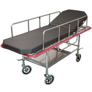 Non-Magnetic Fixed Bariatric Stretcher (600lb. capacity)