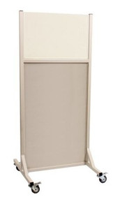 """Clear Mobile Lead X-Ray Barrier 30"""" x 48"""" Window"""