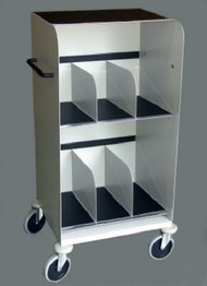 """Cassette and Film Cart 41"""" (with work top)"""